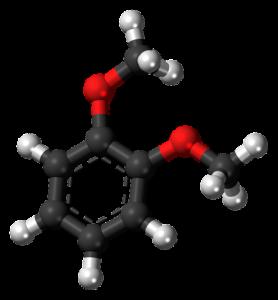 ベンゼン分子のイラスト