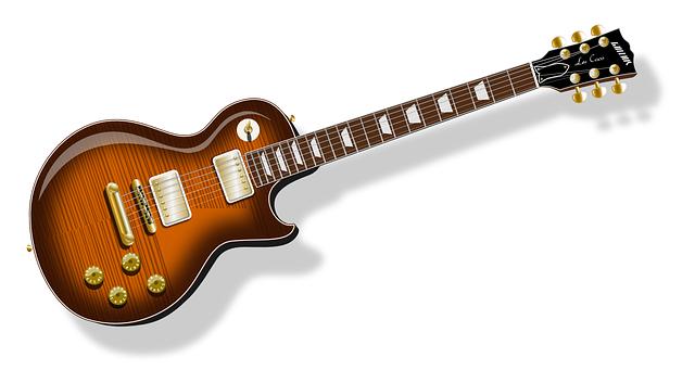レスポールのギター